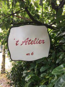 Klik op de foto om 't Atelier aan het Kerkpad 6 in Blaricum te vinden op Google Maps